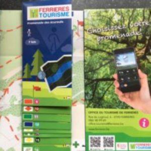 Karte Ferrières