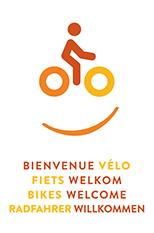 Logo Radfahrer Willkommen